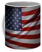 Usa Flag Coffee Mug by Les Cunliffe