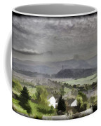 View Of Wallace Monument And Surrounding Areas Coffee Mug