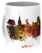 Warsaw City Skyline Coffee Mug