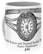 Watch Bracelet, 1891 Coffee Mug
