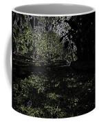 Weeds And Plants In A Coastal Saltwater Creek Coffee Mug