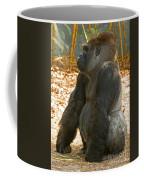 Western Lowland Gorilla Male Coffee Mug