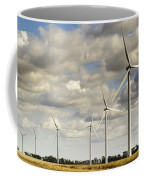 Wind Powered Electric Turbine Coffee Mug