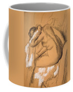 Woman Drying Herself  Coffee Mug by Edgar Degas