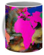 World Map And Human Life Coffee Mug