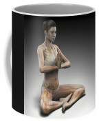Yoga Meditation Pose Coffee Mug