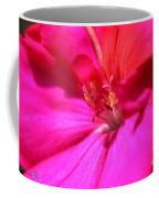 Zonal Geranium Named Tango Neon Purple Coffee Mug