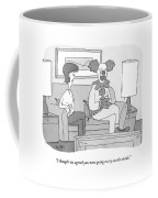 I Thought We Agreed You Were Going To Cry Coffee Mug