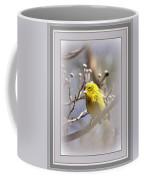 5393-006 - Pine Warbler-fb Coffee Mug