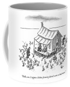 Hello, Son. I Suppose Chicken Farming Doesn't Coffee Mug