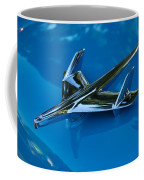 55 Chevrolet Hood Ornament Coffee Mug