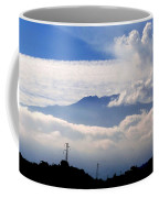 View Of Mt. Etna From Taormina Sicily Coffee Mug