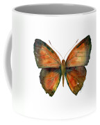 56 Copper Jewel Butterfly Coffee Mug by Amy Kirkpatrick