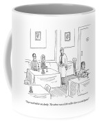 Your Meal Will Be Out Shortly.  The Salmon Coffee Mug