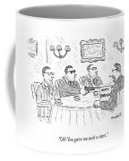 Oh! You Gave Me Such A Start Coffee Mug