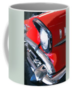 57 Chevy Front End Palm Springs Coffee Mug