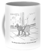 He Rubbed Your Belly And It Felt Good - That Coffee Mug