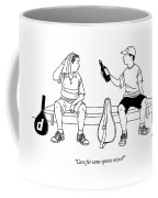 Care For Some Sports Wine? Coffee Mug by Alex Gregory
