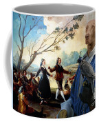 Weimaraner Art Canvas Print  Coffee Mug