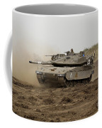 An Israel Defense Force Merkava Mark Iv Coffee Mug