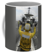 Aviation Boatswains Mate Directs An Coffee Mug