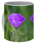 Bloody Geranium Wild Flower Coffee Mug
