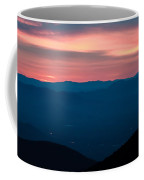 Blue Ridge Parkway Scenic Mountains Overlook Coffee Mug