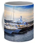 Boats At St.tropez Coffee Mug