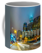 Charlotte City Skyline  Coffee Mug