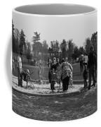 Children Playing Inside The Blair Drummond Safari Park Coffee Mug