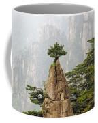 Chinese White Pine On Mt. Huangshan Coffee Mug