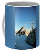 Climbing Cypress Peak Coffee Mug