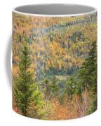 Colorful Fall Forest Near Rangeley Maine Coffee Mug