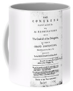 Continental Congress, 1774 Coffee Mug