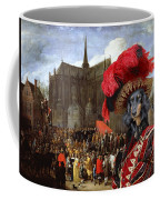 Dachshund Art Canvas Print Coffee Mug