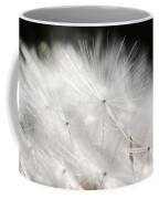 Dandelion Backlit Close Up Coffee Mug
