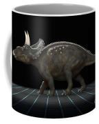 Dinosaur Diceratops Coffee Mug