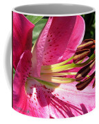 Dwarf Oriental Lily Named Farolito Coffee Mug