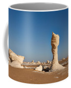Egytians White Desert Coffee Mug