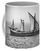 Fishing Vessel In The Arabian Sea Coffee Mug