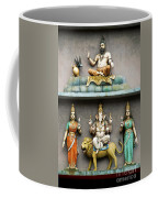 Hindu Temple With Indian Gods Kuala Lumpur Malaysia Coffee Mug