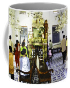 Inside The Historic Jewish Synagogue In Cochin Coffee Mug