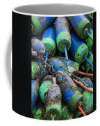 Lobster Buoys Coffee Mug