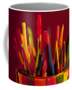 Multi Colored Paint Brushes Coffee Mug