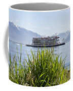 Passenger Ship On An Alpine Lake Coffee Mug