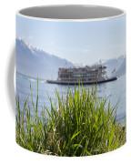Passenger Ship On An Alpine Lake Coffee Mug