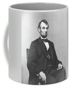 President Lincoln Coffee Mug by War Is Hell Store