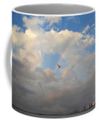 6- Rainbow And Seagull Coffee Mug