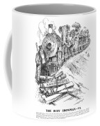 Roosevelt Cartoon, 1906 Coffee Mug