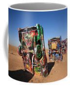 Route 66 - Cadillac Ranch Coffee Mug
